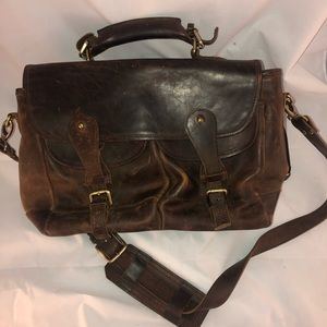 Gold Rush Leather Company Business Bag